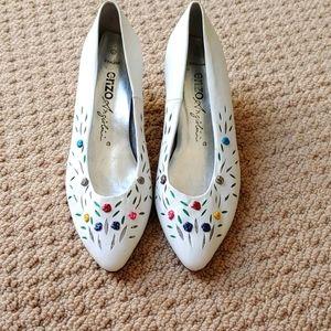 Vintage Enzo heels Size 6 1/2